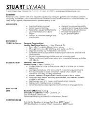 resume for personal assistant personal care assistant resume example wellness sample resumes resume for personal assistant 5329