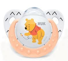 <b>Nuk</b> Disney соска-<b>пустышка ортодонтическая силикон</b> Винни 0-6 ...