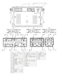 ford taurus radio wiring harness image ford taurus stereo wiring diagram ford image on 2007 ford taurus radio wiring harness