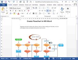 flowcharts in wordblank flowchart template in word