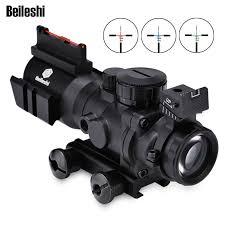 <b>4x32</b> Acog Riflescope 20mm Dovetail Reflex <b>Optics Scope</b> Tactical ...