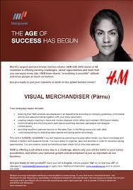 cv keskus t ouml ouml pakkumine visual merchandiser p auml rnu toumloumlpakkumise number
