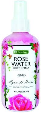 3 Pack - De La Cruz <b>Rose Water Body Spray</b> 8 oz - Walmart.com ...