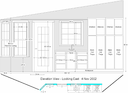 cabinet elevation drawings