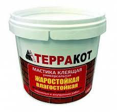 Клей Терракот <b>мастика клеящая жаростойкая</b> 2,5 кг