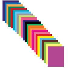 <b>Цветная бумага А4 мелованная</b>, 24 листа 24 цвета, на скобе ...
