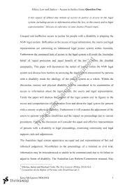 access to justice essay     ethics law and justice  thinkswap access to justice essay