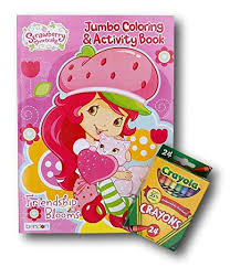 Buy <b>Strawberry</b> Shortcake Jumbo Coloring and Activity Book with ...