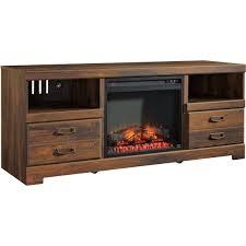 tv stand fireplace insert