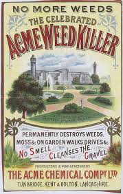 selling the victorians the national archives acme weed killer 1893