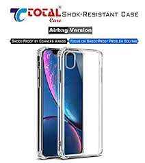 Total Care <b>Clear TPU Shockproof Airbag</b> Drop Protection: Amazon ...