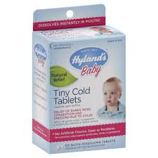 Hyland's <b>Baby Tiny Cold</b> Quick-Dissolving Tablets, 125 ct NOT ...