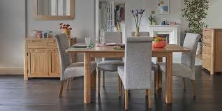 <b>Dining</b> Table and <b>6 chairs</b>   small table & <b>chairs</b>  Oak furnitureland