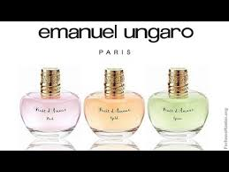 <b>Emanuel Ungaro</b> - <b>Fruit DAmour</b> Fragrance Collection - YouTube