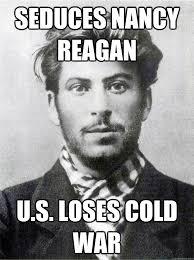 Seduces Nancy Reagan u.s. loses cold war - Ridiculously Photogenic ... via Relatably.com