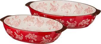 <b>Набор блюд для запекания</b> Agness, 536-156, красный, 2 шт ...