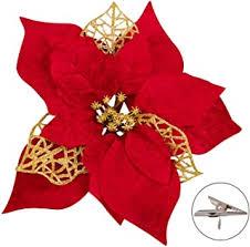 Flower Ornaments - Amazon.com
