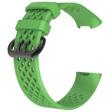 Adjustable <b>Silicone Replacement</b> Sports <b>Strap Wristband For</b> Fitbit ...