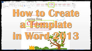 making templates in word template making templates in word