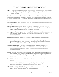 cover letter career objectives resume examples career in resumes for assistant manager experiencecareer objective statements for objective statement for resume examples