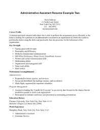 sample administrative assistant resume examples administrative examples of office assistant resumes administrative assistant sample of administrative assistant resume examples of legal
