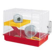 <b>Клетка для хомяков Ферпласт</b> Hamster Duo 58*42*33,5 см - купить ...