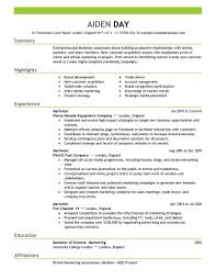 25 cover letter template for resume objectives for marketing marketing resume examples 2016 by aiden marketing resume sample small business marketing resume business administration marketing