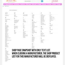 manufacturer or supplier alphabetical search prestashop addons module search filters manufacturer or supplier alphabetical search 11