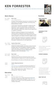 recruiter resume samples   visualcv resume samples databaserecruiter resume samples