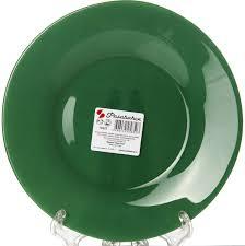 "<b>Тарелка Pasabahce</b> ""Грин Сити"", цвет: зеленый, диаметр 19,5 см ..."