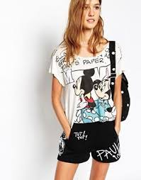 Paul and Joe Sister X <b>Disney</b> T-Shirt with Cartoon <b>Print</b> in <b>2019</b> ...