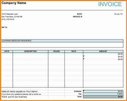 invoice for cleaning services debt spreadsheet invoice for cleaning services cleaning service invoice template microsoft excel jpg