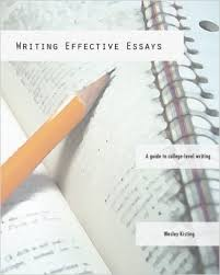 amazoncom writing effective essays a guide to college level  writing effective essays a guide to college level writing