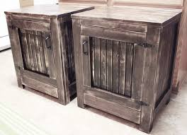 diy night stand plans build your own wood furniture