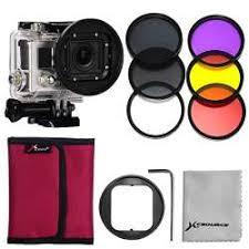 XCSOURCE <b>58mm</b> Adaptor <b>6pcs</b> Filters(Red Yellow purple <b>UV CPL</b> ...