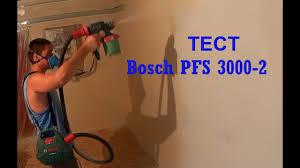 <b>Bosch PFS 3000-2</b>, Обзор + ТЕСТ <b>краскораспылителя</b> - YouTube