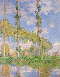 inventing impressionism paul durand ruel and the modern art poplars in the sun claude monet 1891 copy national museum of western art