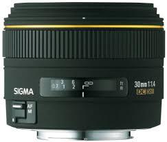 <b>Sigma 30mm f</b>/1.4 EX DC Lens for Minolta and Sony Digital SLR ...