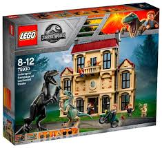 Конструктор <b>LEGO Jurassic World</b> 75930 <b>Нападение</b> ...