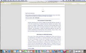 cpe sample writings cpe essay on advertising sample correction cpe essay on advertising sample correction
