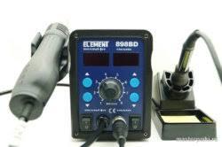 Обзор термовоздушной <b>паяльной станции ELEMENT</b> 898BD ...