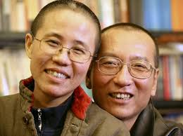 """Liu Xia and Liu Xiaobo: """"Visible and invisible prisons"""". Two writers were awarded Nobel prizes this year — but only one of them won for literature. - liu-xiaobo_liu-xia"""
