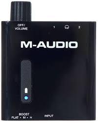 Купить <b>M</b>-<b>Audio Bass Traveler усилитель</b> для наушников: цена в ...