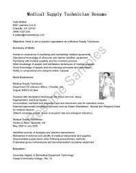 medical supply technician resume example cipanewsletter biomedical equipment technician resume sample cipanewsletter