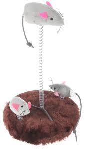 """<b>Игрушка</b> для кошек <b>Trixie</b> """"<b>Мышь"""", на</b> подставке — купить в ..."""