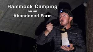 <b>Hammock Camping</b> on an Abandoned Mountain Farm - Quehanna ...
