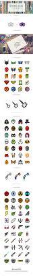 freebie the flat superheroes villains icon set 100 icons png svg basic icons flat icons 1000