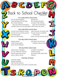 ideas about back to school checklist on pinterest  schools  back to school checklist created by a teacher and parent the julieverse