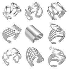 Hot <b>Mahjong</b> Lucky <b>Ring</b> Silver Gold Color Stainless Steel <b>Rotatable</b> ...