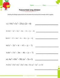 Factoring polynomials worksheets with answers and operationsPolynomials synthetic division worksheet pdf, polynomials long division worksheet pdf